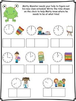 September - Clock Bundle