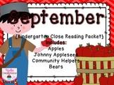 September Close Reading Packet