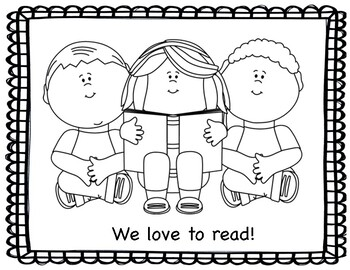 September Coloring Pages By Miss P S Prek Pups Tpt