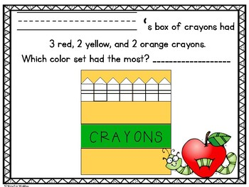 September Crayon Box Math Craftivity