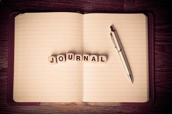 September Creative Writing Journal Topics Calendar