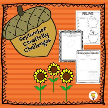 September Enrichment, Early Finishers- GATE Creativity Challenges