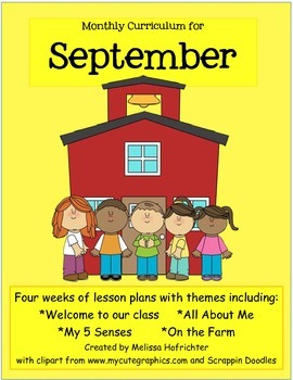 September Curriculum