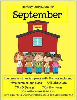 September Curriculum