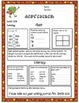September Daily Common Core Third Grade Practice For Language and Math Skills
