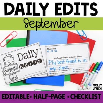 September Daily Edits