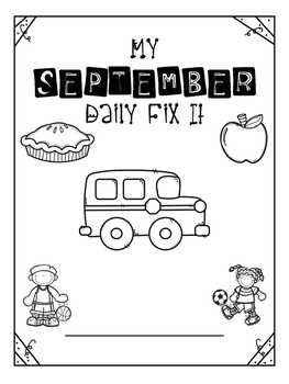 September - Daily Fix It
