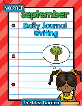 September Daily Journal Writing - NO PREP