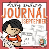 September Daily Journal (Writing Prompts)