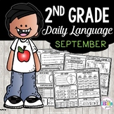 September Morning Work 2nd Grade | Daily Language