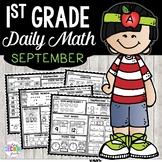 September Morning Work 1st Grade