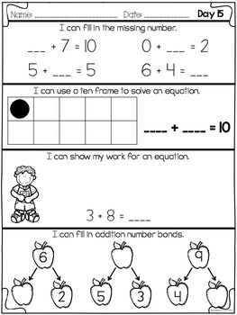 September Daily Math