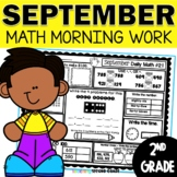 September Morning Work 2nd Grade | Daily Math