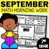 September Morning Work 2nd Grade | Daily Math