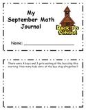 September Daily Math Skills Journal