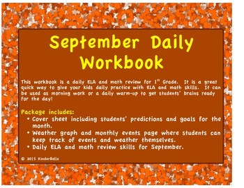 September Daily Morning Work