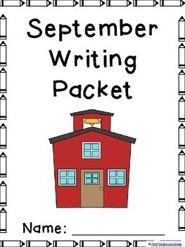 September Writing Prompts on Themed Paper-Differentiated!