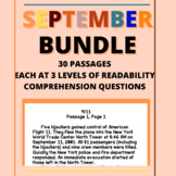 September Bundle Day in History Differentiated Reading