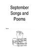 September - December Monthly Songs