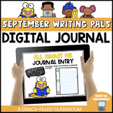 September Digital Writing Prompts with Writing Pals