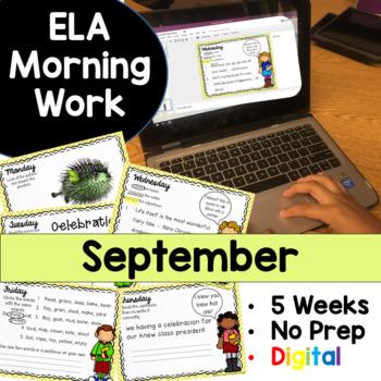 September Morning Work Google Drive Digital Edition