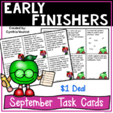 Early Finishers! September! {$1 Deal}