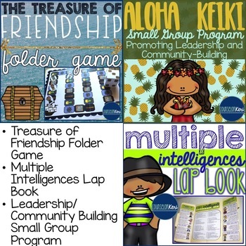 September Elementary School Counseling Resource Bundle