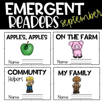 September Emergent Reader
