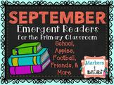 September Emergent Readers