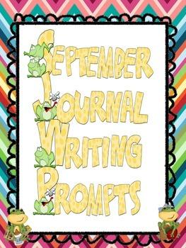 September Everyday Writing Journals Printable