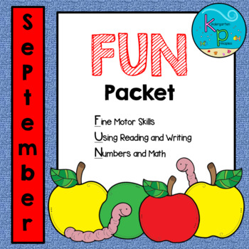 September FUN Packet - NO PREP!