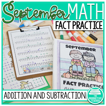 September Fact Practice: Addition and Subtraction