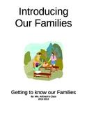 September Family Homework Project