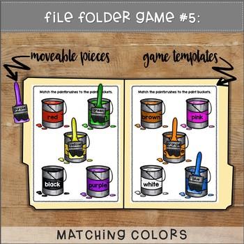 September File Folder Games