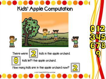 September First Grade Digital Daily Math Talks For GOOGLE SLIDES