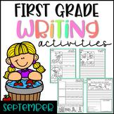 September First Grade Writing Activities