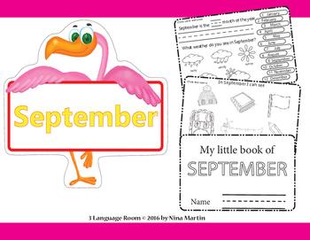 September. Flip book