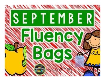 September Fluency Bags