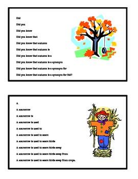September Fluency Pyramid