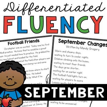 Fluency Passages (September)