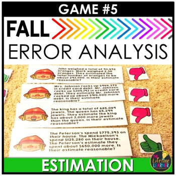Fall  Fourth Grade Math Centers BUNDLE