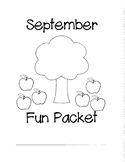 September Fun Packet