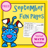 September Fun Pages
