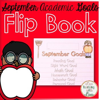 September Goals Flip Book