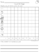 September Graph and Tally Poster Sets: Autumn Pictures
