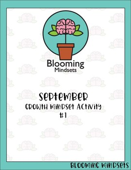 September Growth Mindset Activity