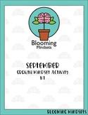 Growth Mindset -September Activities