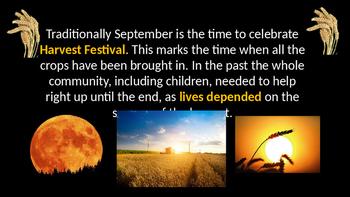 September Harvest Festival Assembly, tutor/ form time/ PSH