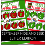 September  Hide and Seek -  Letter Edition