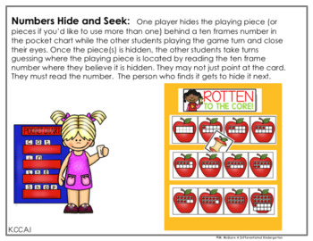 September Hide and Seek - Numbers Edition